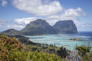 Lord Howe perfection from the Malabar ridge, Lord Howe Island